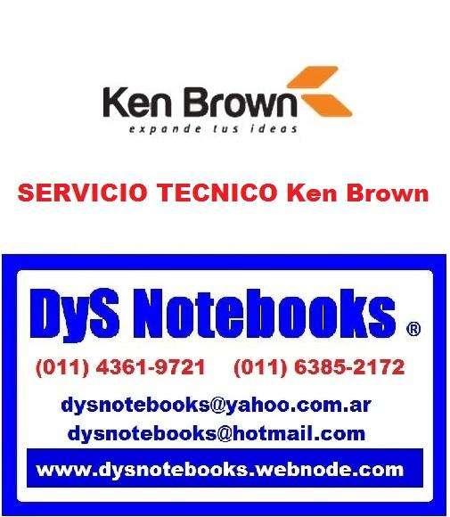 Ken Brown SERVICIO TECNICO NOTEBOOK NETBOOK LAPTOP