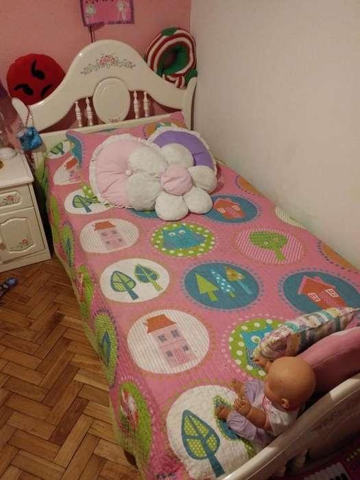 Juego de <strong>dormitorio</strong> Infantil 4 Piezas