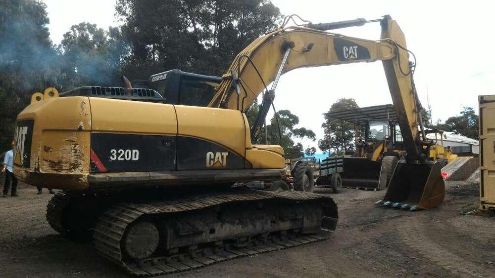 Retro Excavadora Caterpillar 320D -venta