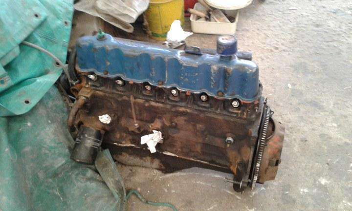 Motor <strong>ford</strong> 221, 6 cilindros completo, con baja