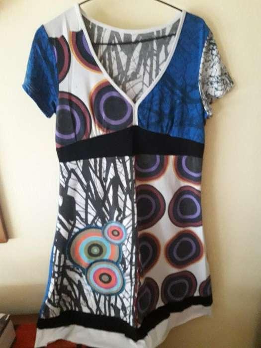 <strong>vestido</strong> de Diseño Talle Unico