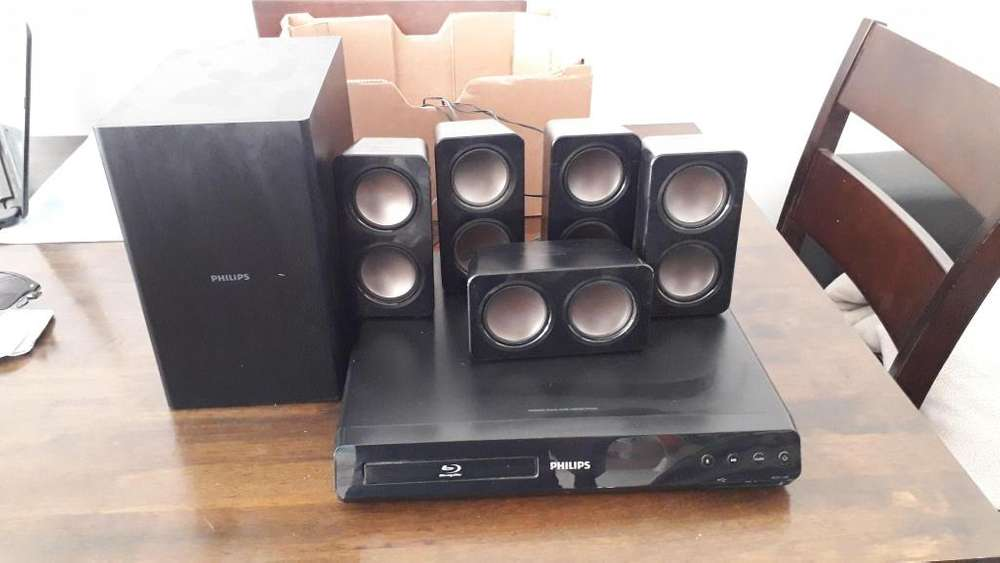Home theater philips 51