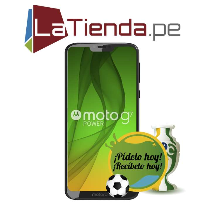 Motorola Moto G7 Power Bateria de 5000 mah