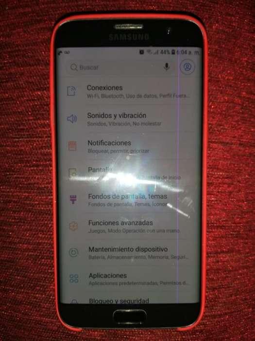 Vendo O Cambio Samsung S7 Edge con Linea Rosa