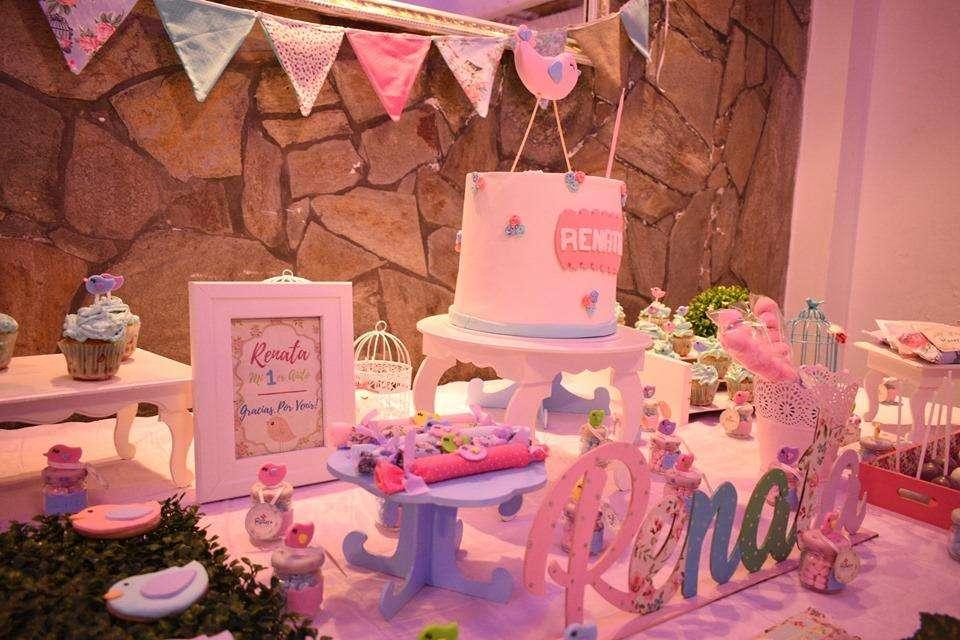 Ambientación y decoración de candy bar y mesa dulce