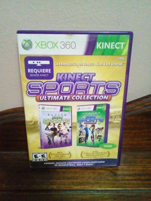 Kinect Sports ultimate collection 2 juegos Xbox 360