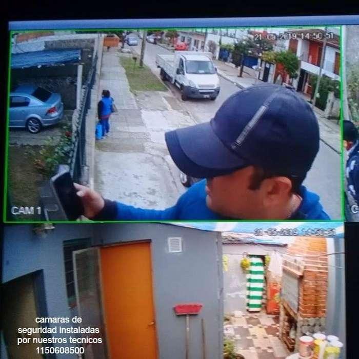 Camaras de seguridad en HD y Alarmas , Video Vigilancia , instalación