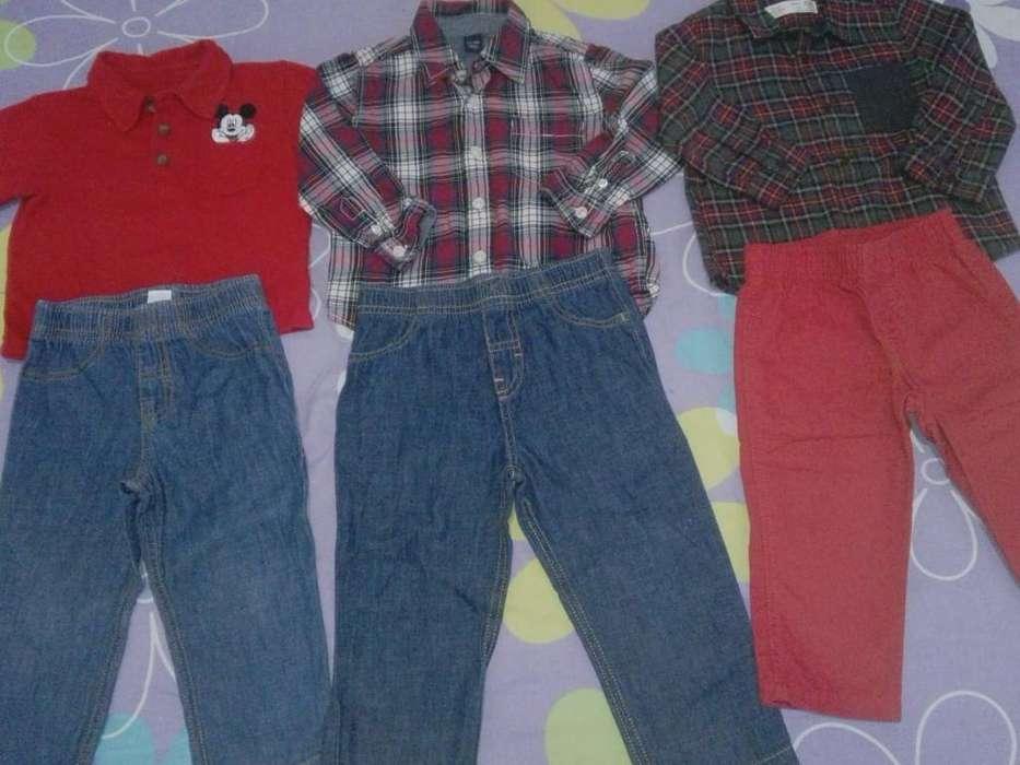 Lote de <strong>ropa</strong> de Niño Talla 1-2 Años