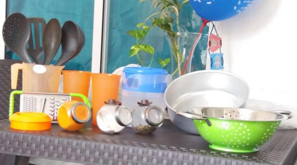 Combo jarra azul utensilio Imusa Tlf 313 7578342