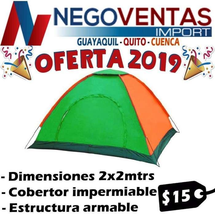 CARPA DE <strong>camping</strong> PARA 4 PERSONAS 2 METROS