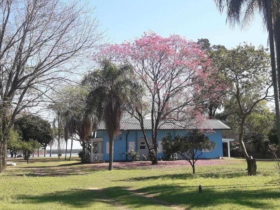 Extraordinaria propiedad frente al Rio Parana. excelente inversión