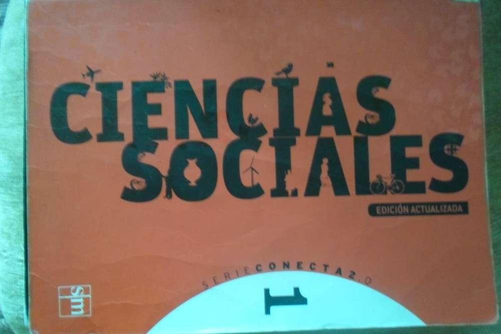 Libro de Ciencias Sociales usado. Serie conecta 2.0. 1