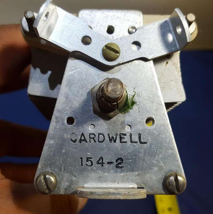 Cardwell High Power Variable Tuning Capacitor Condenser 1542