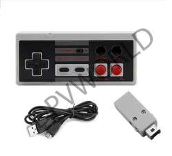 Control Inalámbrico Clasico Nintendo Nes 2.4g Rango 10m