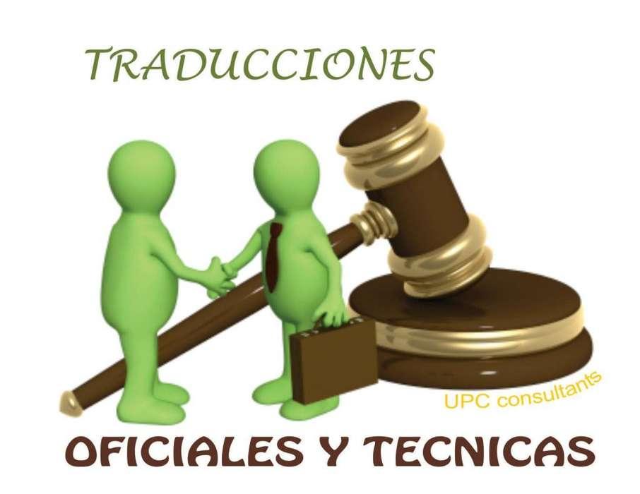 TENEMOS SERVICIOS DE INTERPRETACIÓN Y TRADUCCIÓN OFICIAL A NIVEL NACIONAL....3113050553