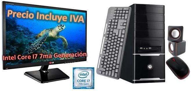 Computador Cpu Intel Core I7 8va Gen 2tb 4gb Led 20 Dvd PRECIO INCLUYE IVA ENTREGA A DOMICILIO