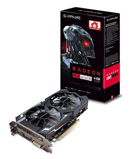 Placa de video RX 460 2gb