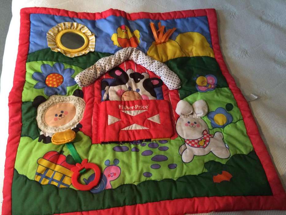 Alfombra didactica Fisher price Impecable!