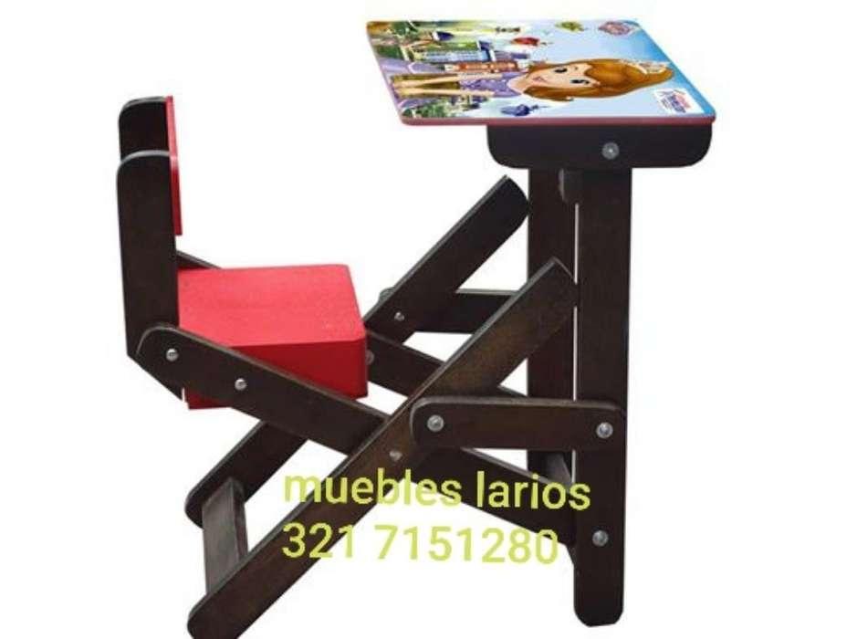 Mesas para Niños de madera medellin