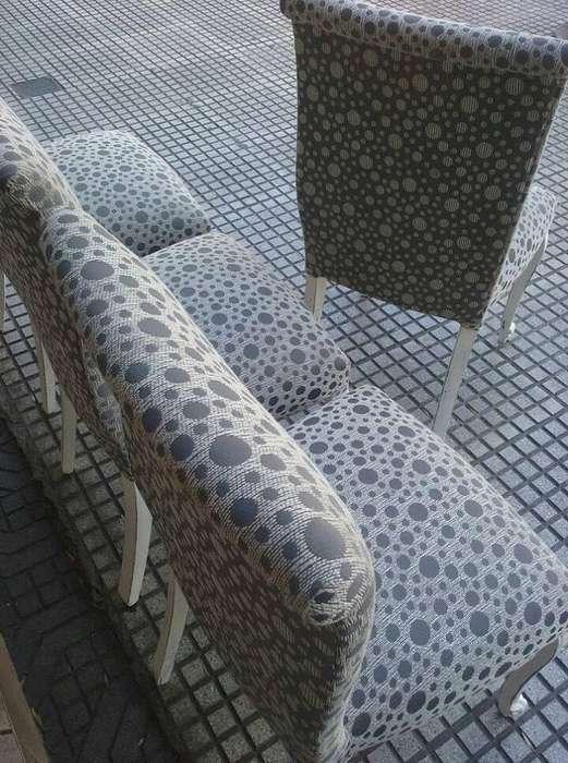 VENDO 4 <strong>silla</strong>s de estilo restauradas