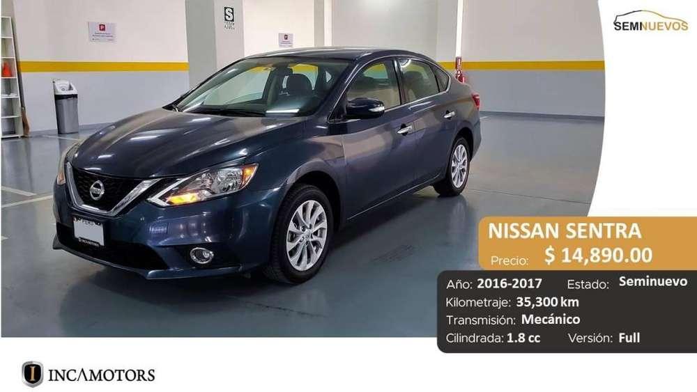 Nissan Sentra 2016 - 35300 km
