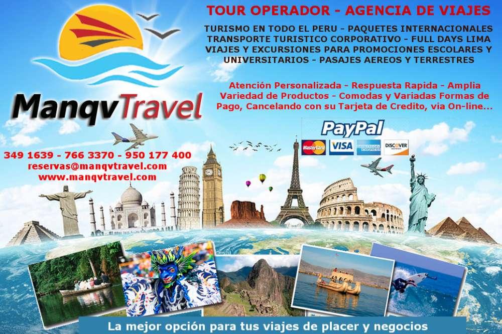 Agencia de Viajes y Turismo MANQVTRAVEL