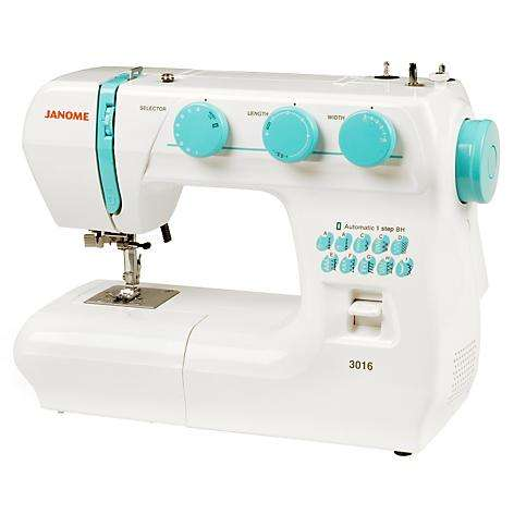 Maquina de coser Janome 3016