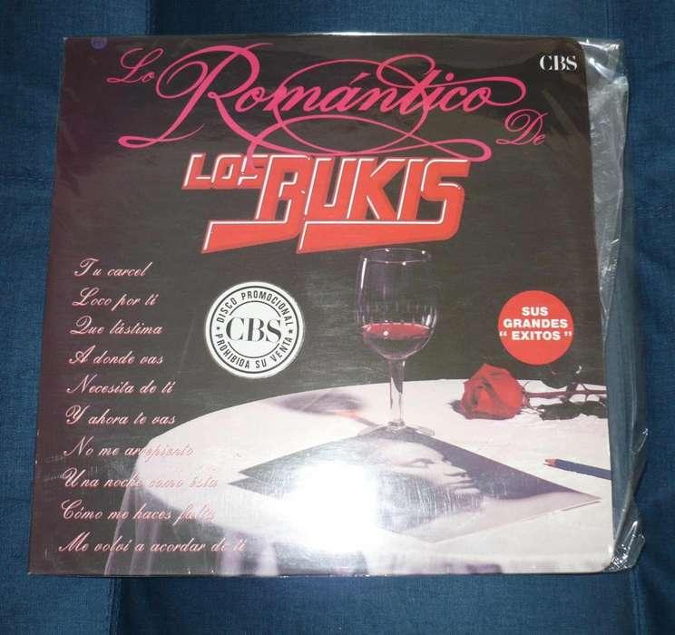 Lp Los Bukis Lo Romántico De Los Bukis 1989 Promocional