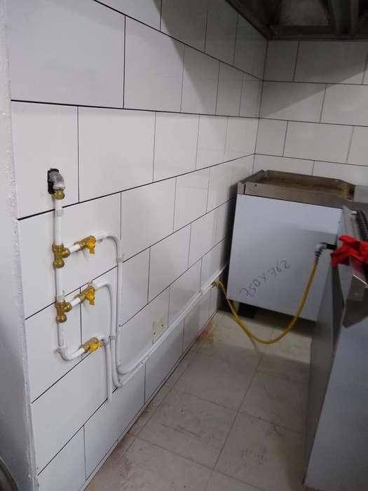 Instalacion de Tuberías de Gas Natural