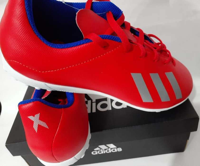 Zapatilla Adidas Exh X 18.4 Tf J