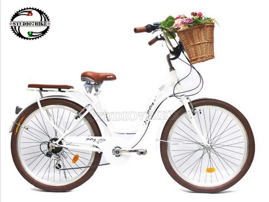 Bicicletas Camperas Vintage De Dama Coleccion 2019