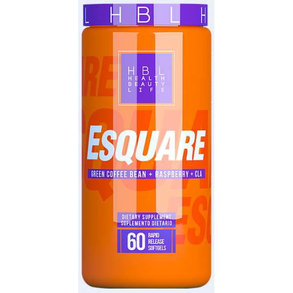 ESQUARE HEALTHY SPORTS 60 CAPSULAS