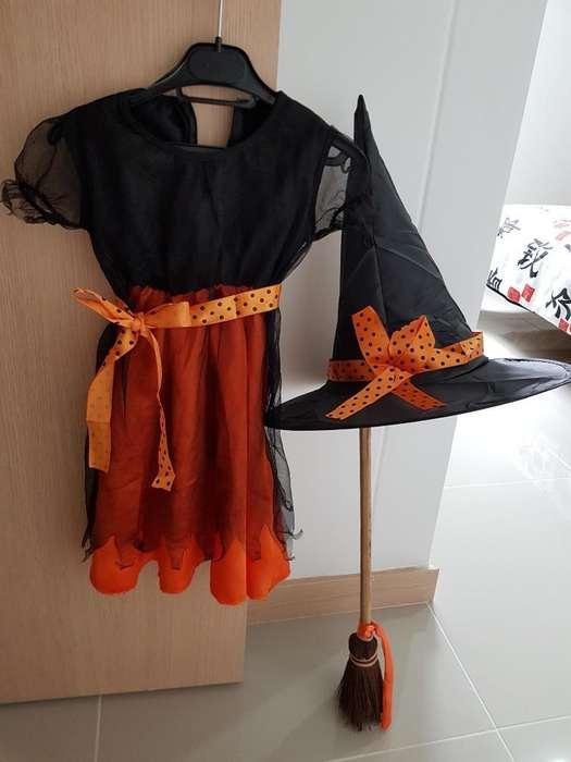 Disfraz de Brujita