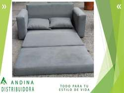 Sofá Cama 1 12 Elegante Moderno