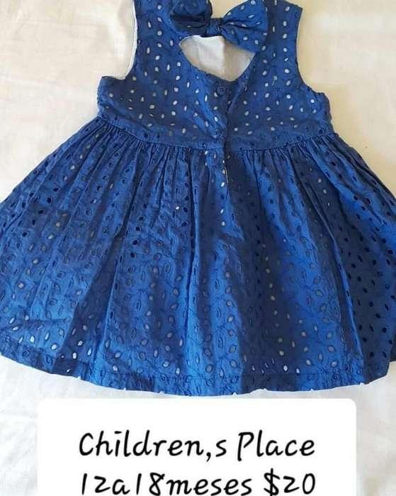 Vestido de Niña 18 Meses