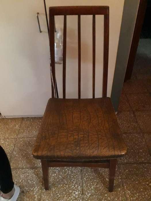 Vendo 6 <strong>silla</strong>s Impecables