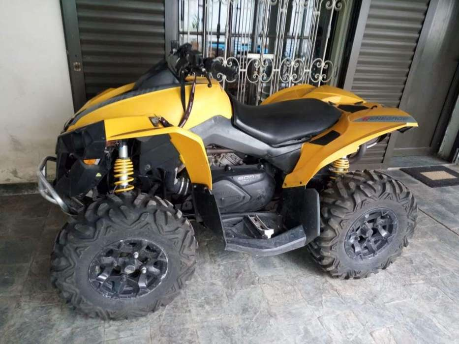 VENDO CAN AM RENEGADE 800 R MODELO 2013