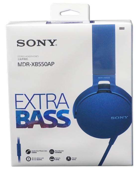 Audifonos <strong>sony</strong> Extra Bass Nuevos