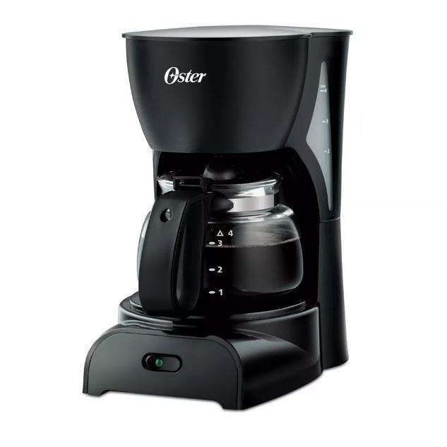 Cafetera 4 Tazas Oster BVSTDCDR5B013 Negro