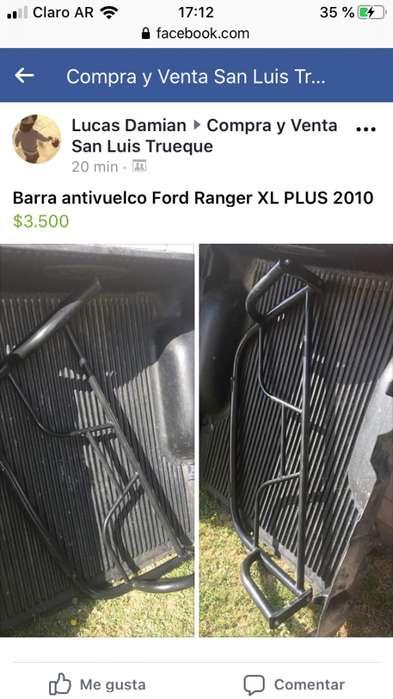 Barra antivuelco Original Ford Ranger