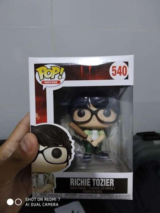 Funko Pop It: Richie con bate (Figura Coleccionable)