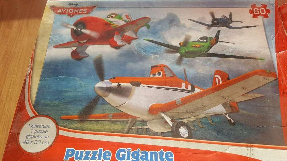 Rompecabezas Gigante Planes. 60 Piezas