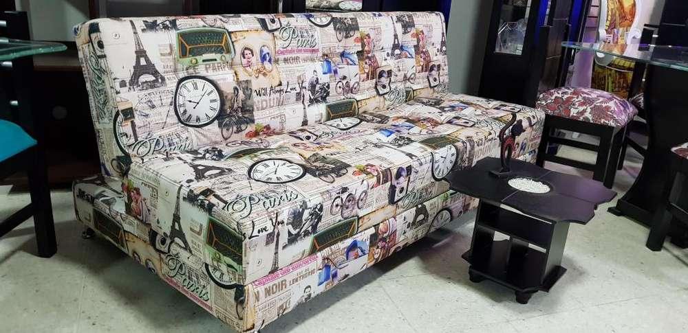 Sofa Camas Excelente Calidad Oferta