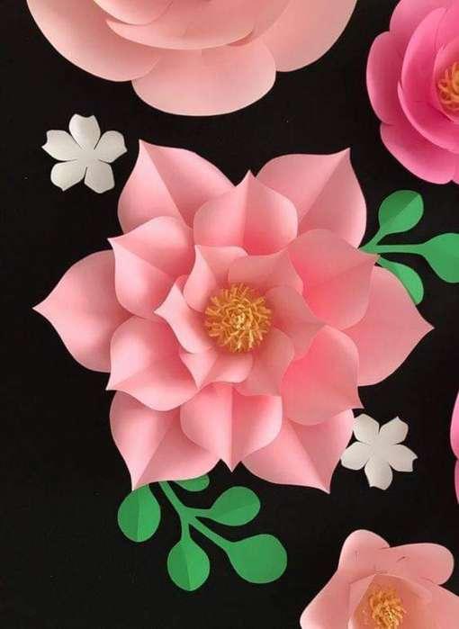 Se Venden Hermosas Flores en Papel, Fomy
