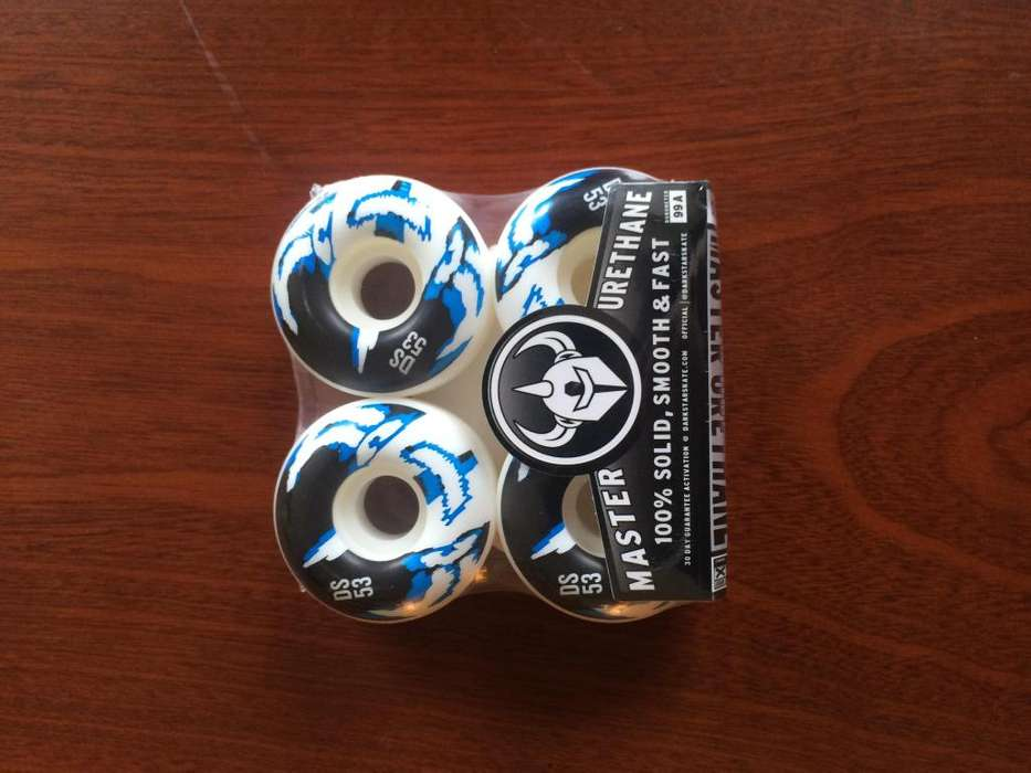Ruedas 53mm skate Darkstar