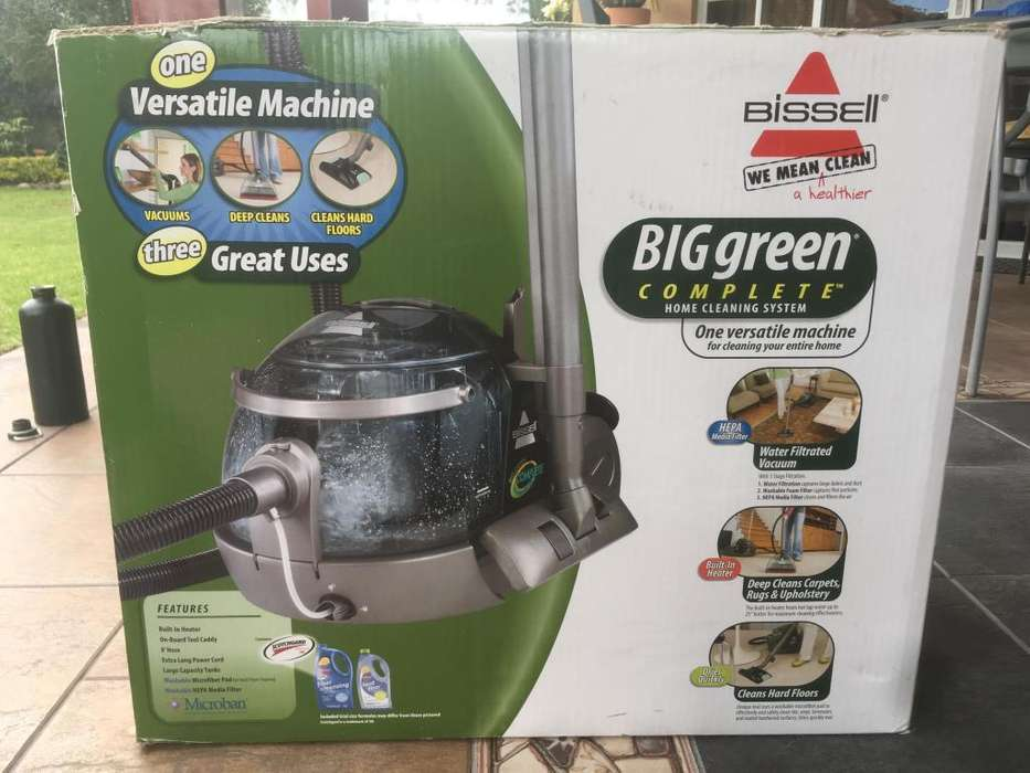 <strong>aspiradora</strong> Con Agua Bissell Big Green