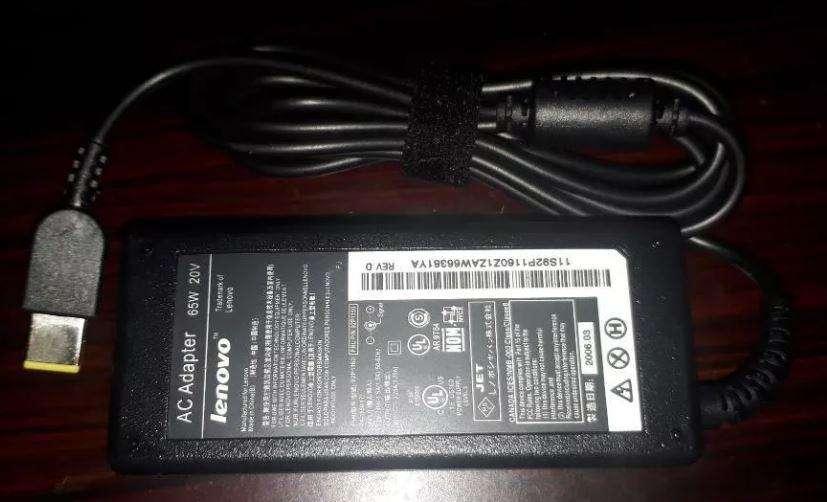 Cargador Lenovo 65w 20v 3.25a