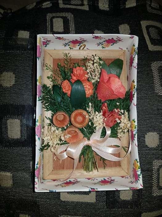 Cuadro de Flores 3d