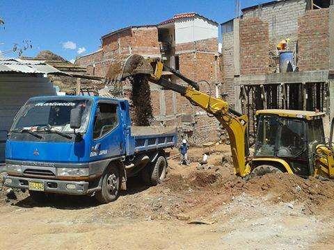 DESMONTE, DEMOLICIONES,EXCAVACIONES, CONSTRUCCIÓN CUSCO