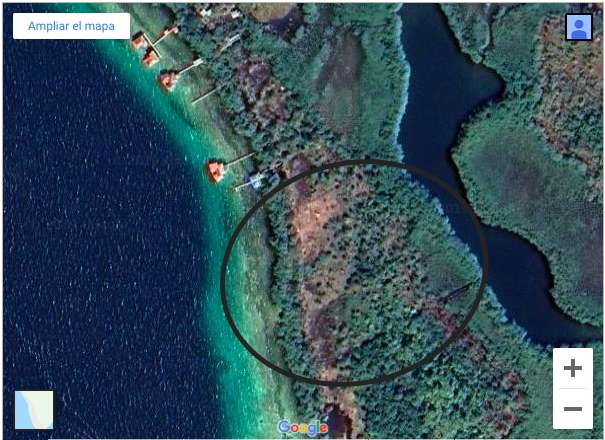 OCEAN FRONT ISLAND LOT - BOCAS DEL TORO BIG BIGHT